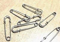 Основа броши Булавка сталь 46 мм