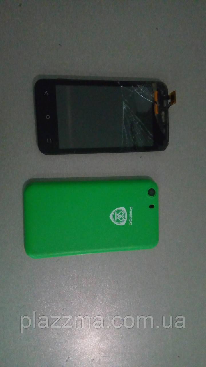 Телефон Prestigio MultiPhone Wize L3 3403 Duo Green  на запчасти или восстановление