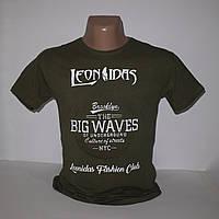 Мужская футболка с выпуклыми буквами большого размера 3378G