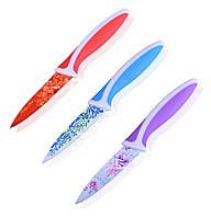 Ножи стальные 80 мм с рисунком