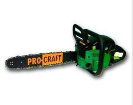 Бензопила ProCraft K450 (2шины, 2цепи)