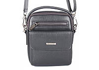 Мужская сумка Bradford 8928-2 малая на два отдела искусственная кожа 19х22х8cм, фото 1