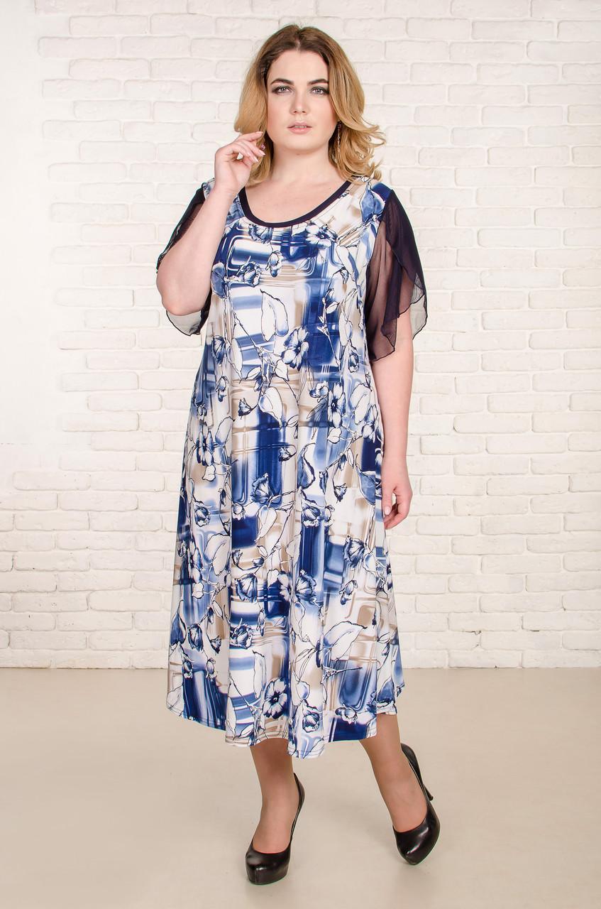 Платье летнее Арина р 60-66
