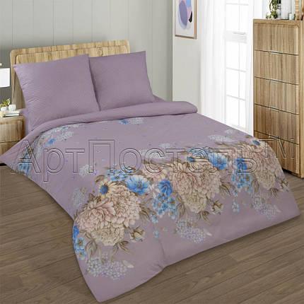 Постельное белье Симона поплин  ТМ  Комфорт-текстиль  (Евро), фото 2
