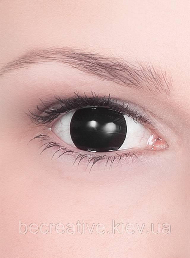 Черные декоративные линзы