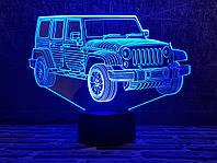 """Детский ночник - светильник """" Автомобиль 22 """" 3DTOYSLAMP, фото 1"""