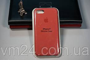 Силиконовый чехол Apple Silicone Case for iPhone  7/8  SE 2020 цвета salmon