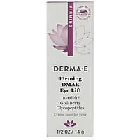 Derma E, Firming DMAE Eye Lift Крем для век под глаза с пептидами и годжи оригинал