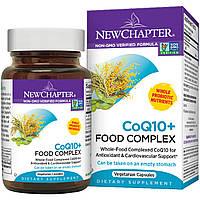 New Chapter, Коэнзим Q10 + питательный комплекс, 60 капсул в растительной оболочке