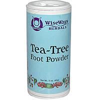 WiseWays Herbals, LLC, Порошок чайного дерева для ног 3 унции (85 г)