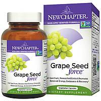 "New Chapter, ""Сила семян винограда"", 30 капсул на растительной основе (Discontinued Item)"