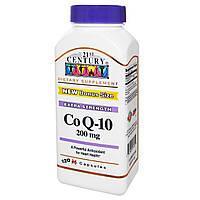 21st Century, Коэнзим Q-10, 200 мг, 120 гелевых капсул