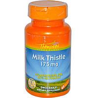 Thompson, Расторопша, 175 мг, 60 растительных капсул