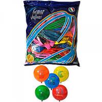 Воздушные шары 45 см пастель с рисунком арбуз ассорти Gemar 59830