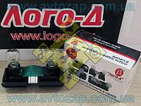 Плата заднего фонаря ВАЗ-2110 внутренняя (стоп) с патронами и лампами (Лого-Д) 2110-3716196