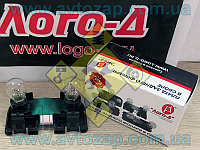 Плата заднего фонаря ВАЗ-2111-2115 внутренняя (стоп) с патронами и лампами (Лого-Д) 2111-3716196