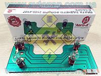 Плата заднего фонаря ВАЗ-2107 левая с патронами и лампами (Лого-Д) 2107-3716093