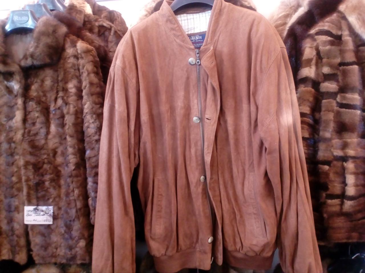 Куртка из замши. Куртка мужская.