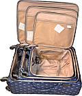 """Набір валіз Three birds 20"""",23"""",26"""" з розширенням (3шт) на 4 колесах, фото 7"""