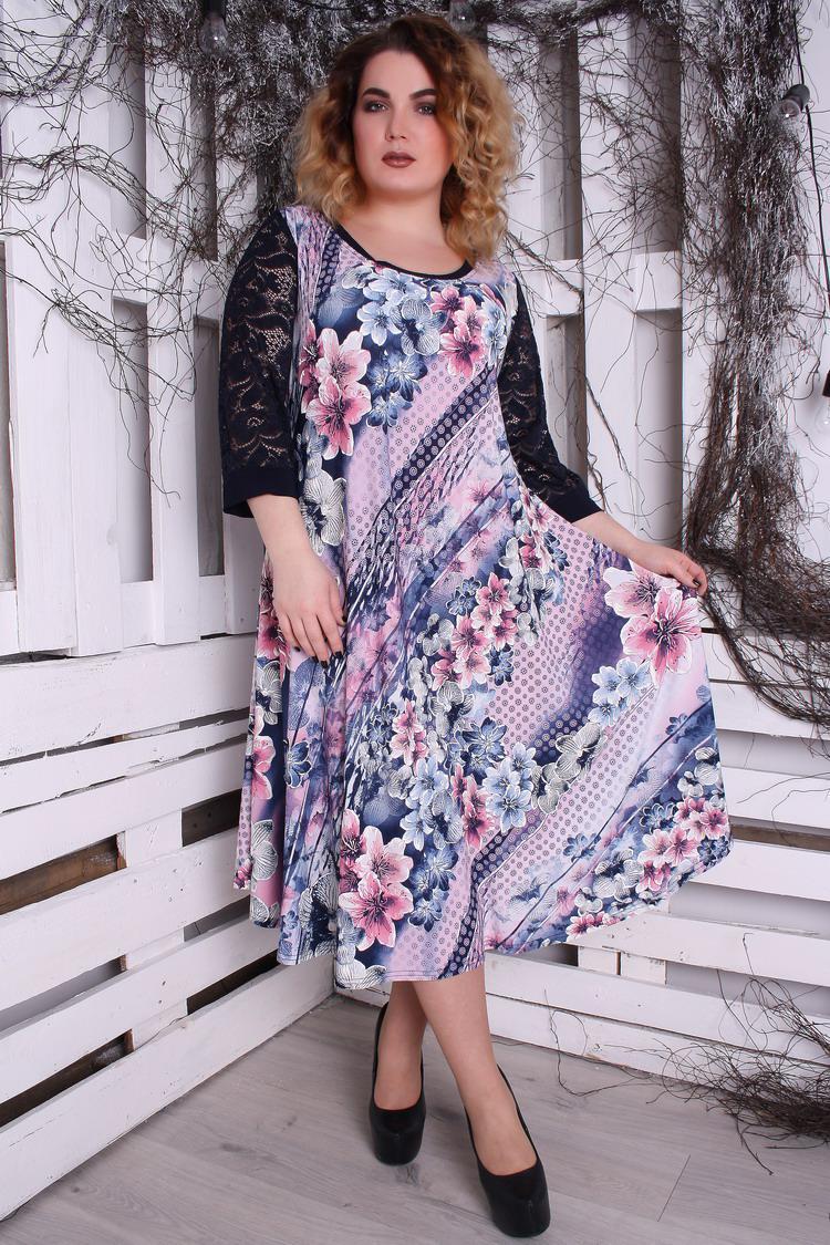 Платье Надюша р 60-66