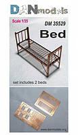 Фототравление: Армейская кровать, 2 шт.