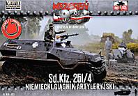 Немецкий артиллерийский тягач на базе Sd.Kfz.251/4