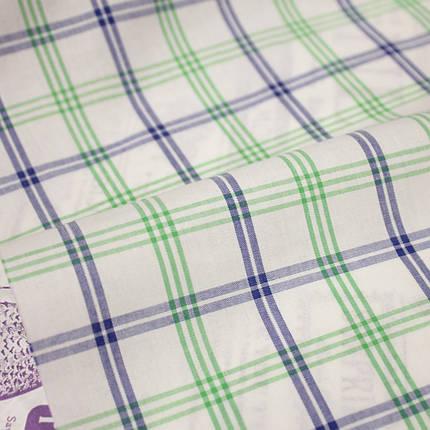 Рубашечная ткань принт клетка D-104 (от 10 метров), фото 2