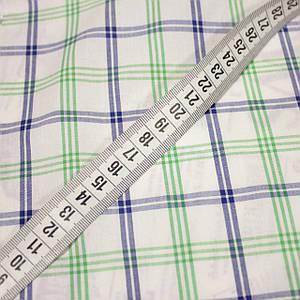 Рубашечная ткань принт клетка D-104 (от 10 метров)