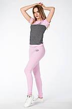 КОСТЮМ СПОРТИВНЫЙ ЛЕТНИЙ ~PP-Plus~ цвет розовый, фото 2
