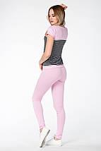 КОСТЮМ СПОРТИВНЫЙ ЛЕТНИЙ ~PP-Plus~ цвет розовый, фото 3
