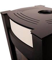 Отопительная печь-камин длительного горения AQUAFLAM VARIO KALMAR (водяной контур, кремовый), фото 2