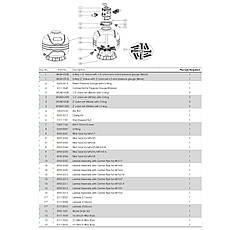 Фильтр Emaux MFV27А (14.4 м3/ч, D675), для бассейна объёмом до 58 м3, фото 3