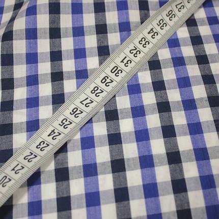 Рубашечная ткань принт клетка D-109 (от 10 метров), фото 2