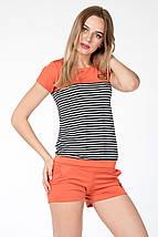 КОСТЮМ СПОРТИВНЫЙ ЛЕТНИЙ ~PP~ цвет оранж, фото 2
