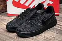 Кроссовки мужские Nike Air Force, черные (2485-1),  [  42 44  ]
