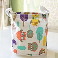 Корзина для игрушек Owls in the Forest Berni, фото 1