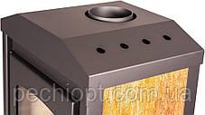 Опалювальна піч-камін FLAMINGO VEGA (горіх), фото 3