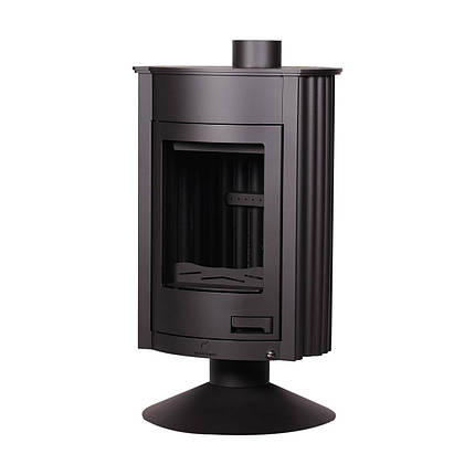 Отопительная печь Masterflamme Medie ІI  (черный), фото 2