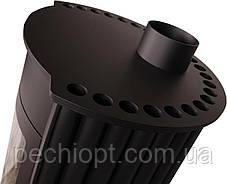 Отопительная печь Masterflamme Medie ІI  (черный), фото 3