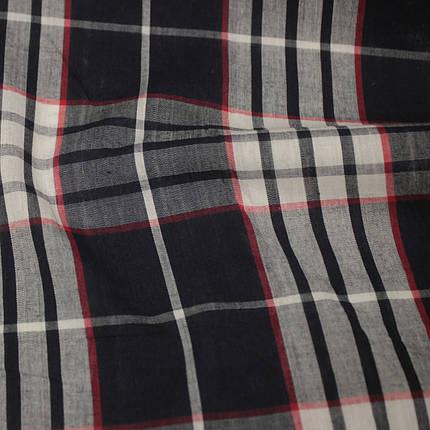 Рубашечная ткань принт клетка D-58 (от 10 метров), фото 2