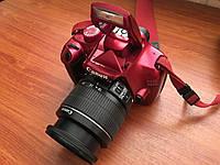 Дзеркальний фотоапарат Canon EOS 1100D 18-55 IS II KIT Red, фото 1