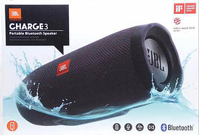 Колонка портативная JBL CHARGEJ3+ с USB+SD+ Bluetooth + FM радио