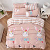 Уценка (дефекты)! Комплект постельного белья Loving Rabbit (двуспальный-евро) Berni