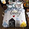 Уценка (дефекты)! Комплект постельного белья Just Lovely (двуспальный-евро) Berni