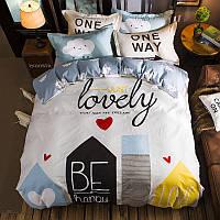 Уценка (дефекты)! Комплект постельного белья Just Lovely (двуспальный-евро) Berni, фото 1