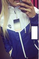 Куртка - ветровка женская на подкладке
