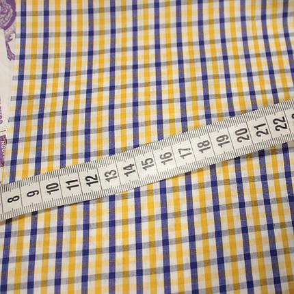 Рубашечная ткань принт клетка D-51 (от 10 метров), фото 2