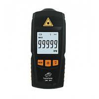 Безконтактний лазерний тахометр BENETECH GM8905 (50-500 мм) (2.5-99999RPM) з запам'ятовуванням MAX, MIN, LAST,