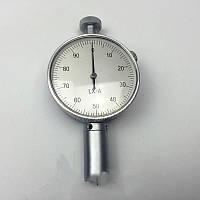 Дюрометр (твердомер) Шора модель LX-A SHORE A с одной стрелкой, шкала 0-100