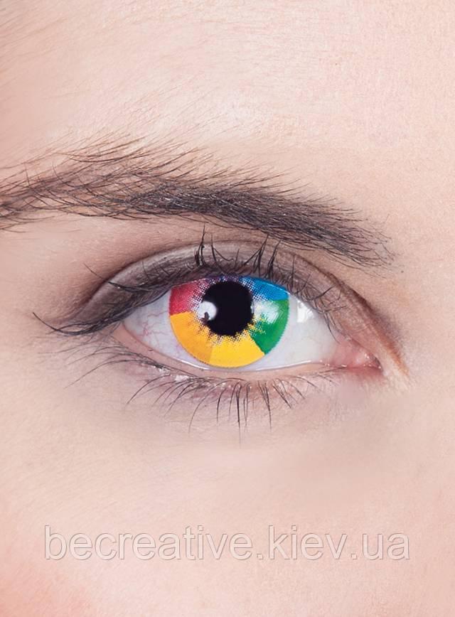 Разноцветные декоративные линзы